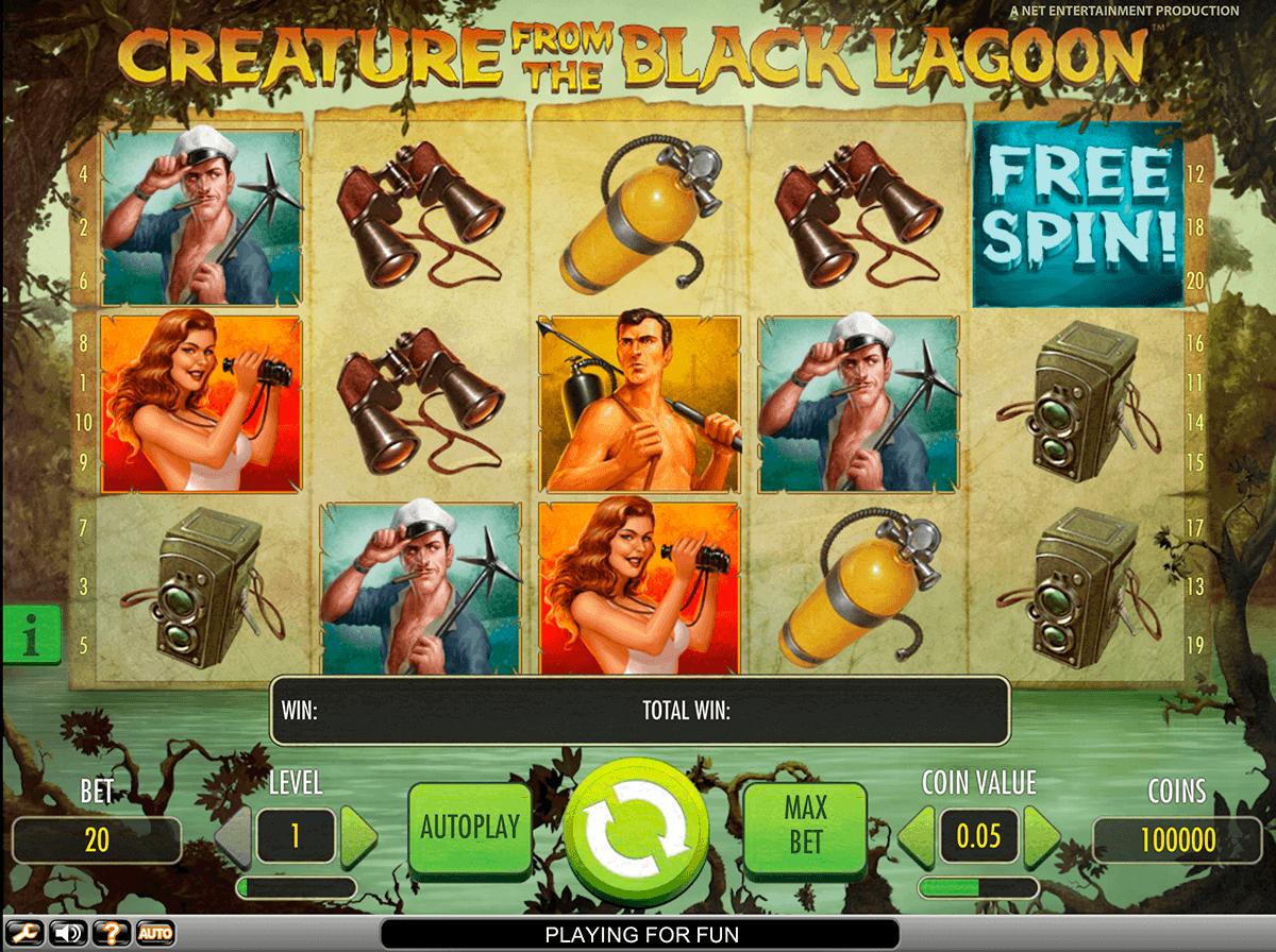 Creature from the Black Lagoon Slot - NetEnt Casino - Rizk.de