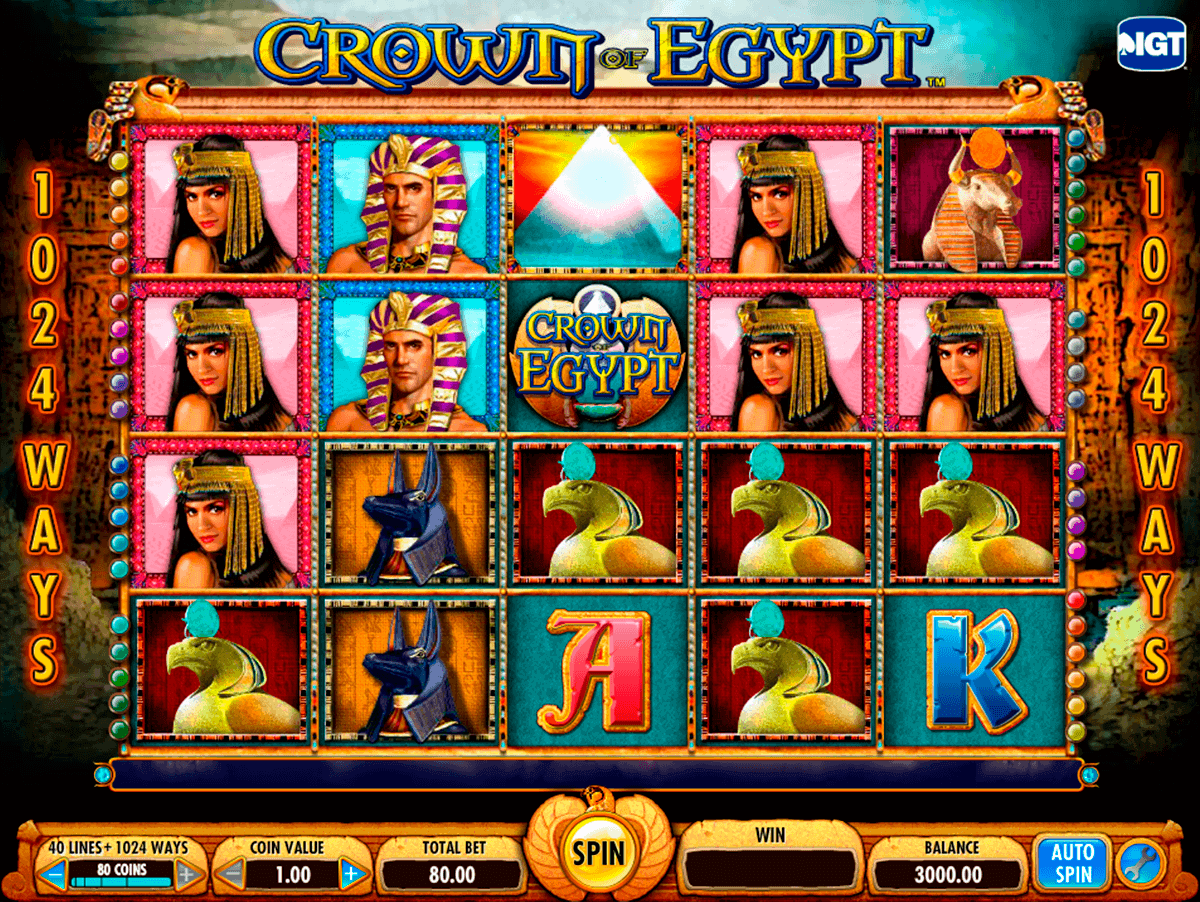 crown of egypt igt gokkast