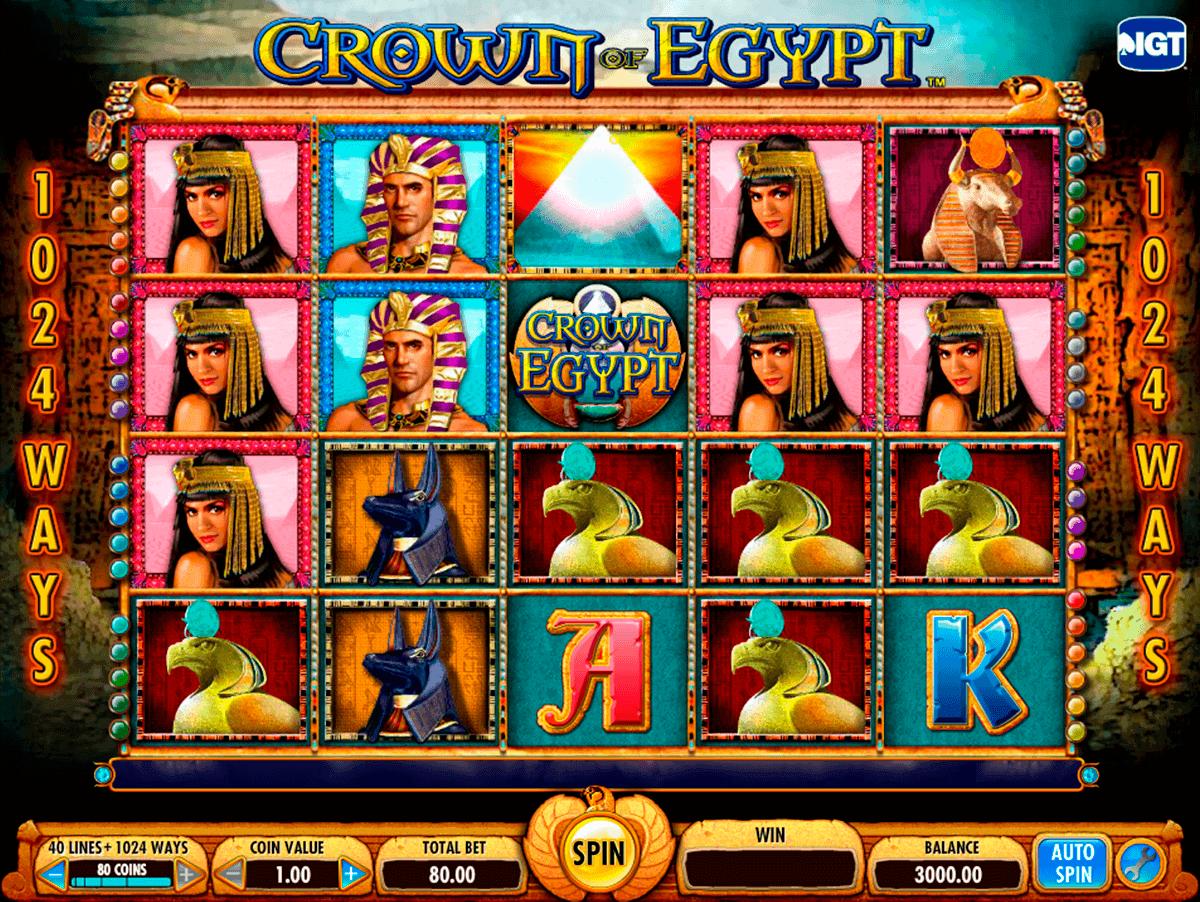crown of egypt igt gokkast