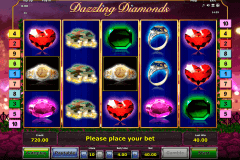 dazzling diamonds novomatic gokkast