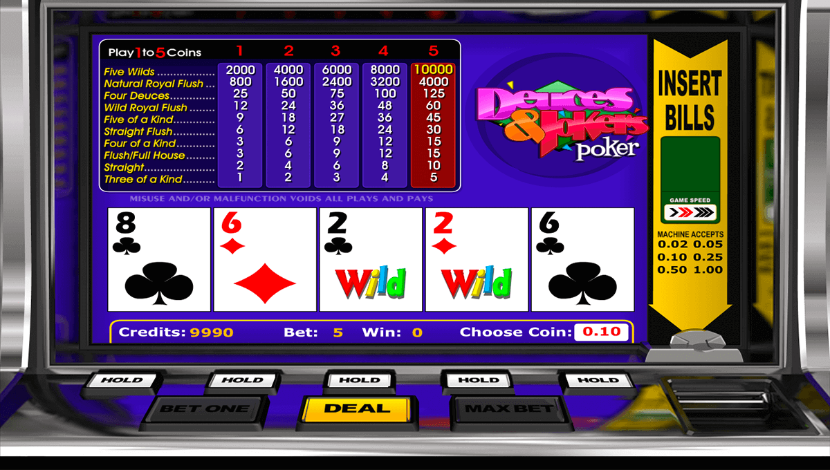 Spiele Deuces Wild MH (Nucleus) - Video Slots Online