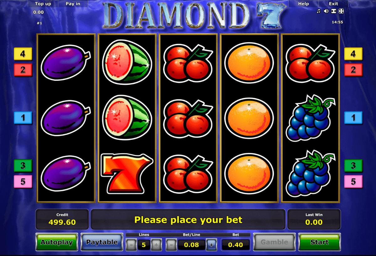 diamond  novomatic gokkast