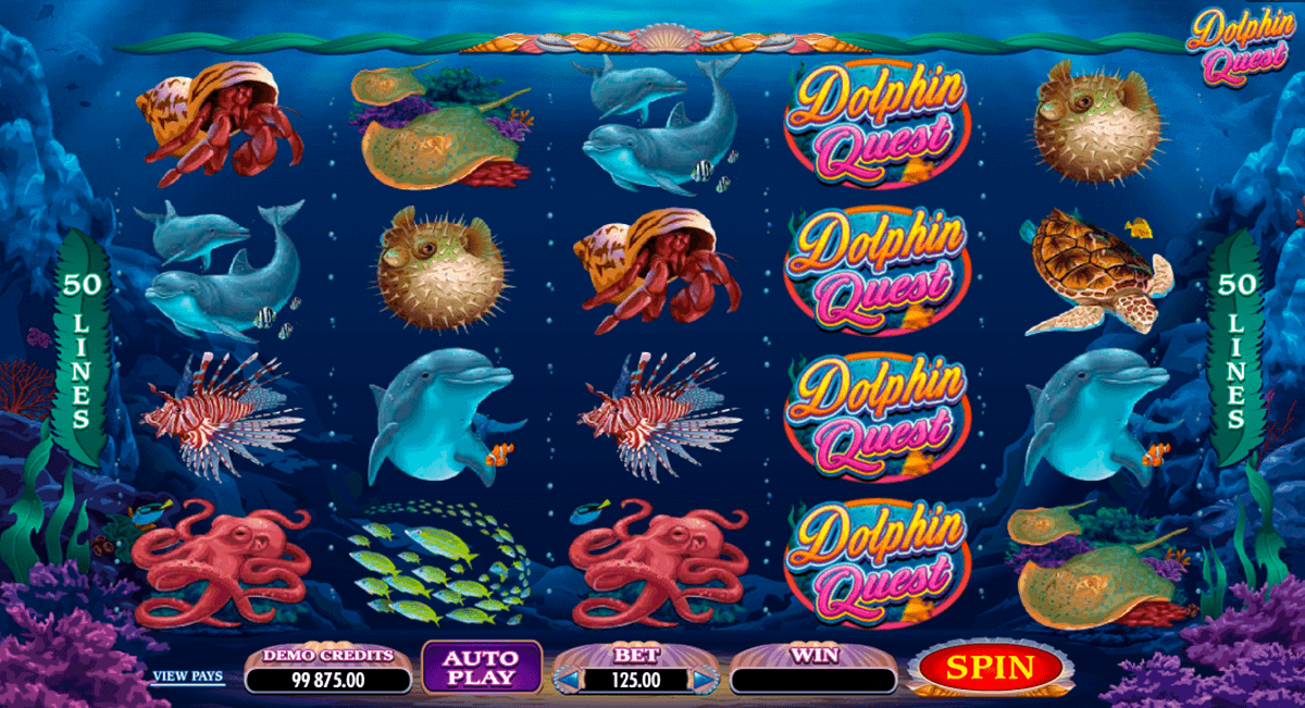 dolphin quest microgaming gokkast
