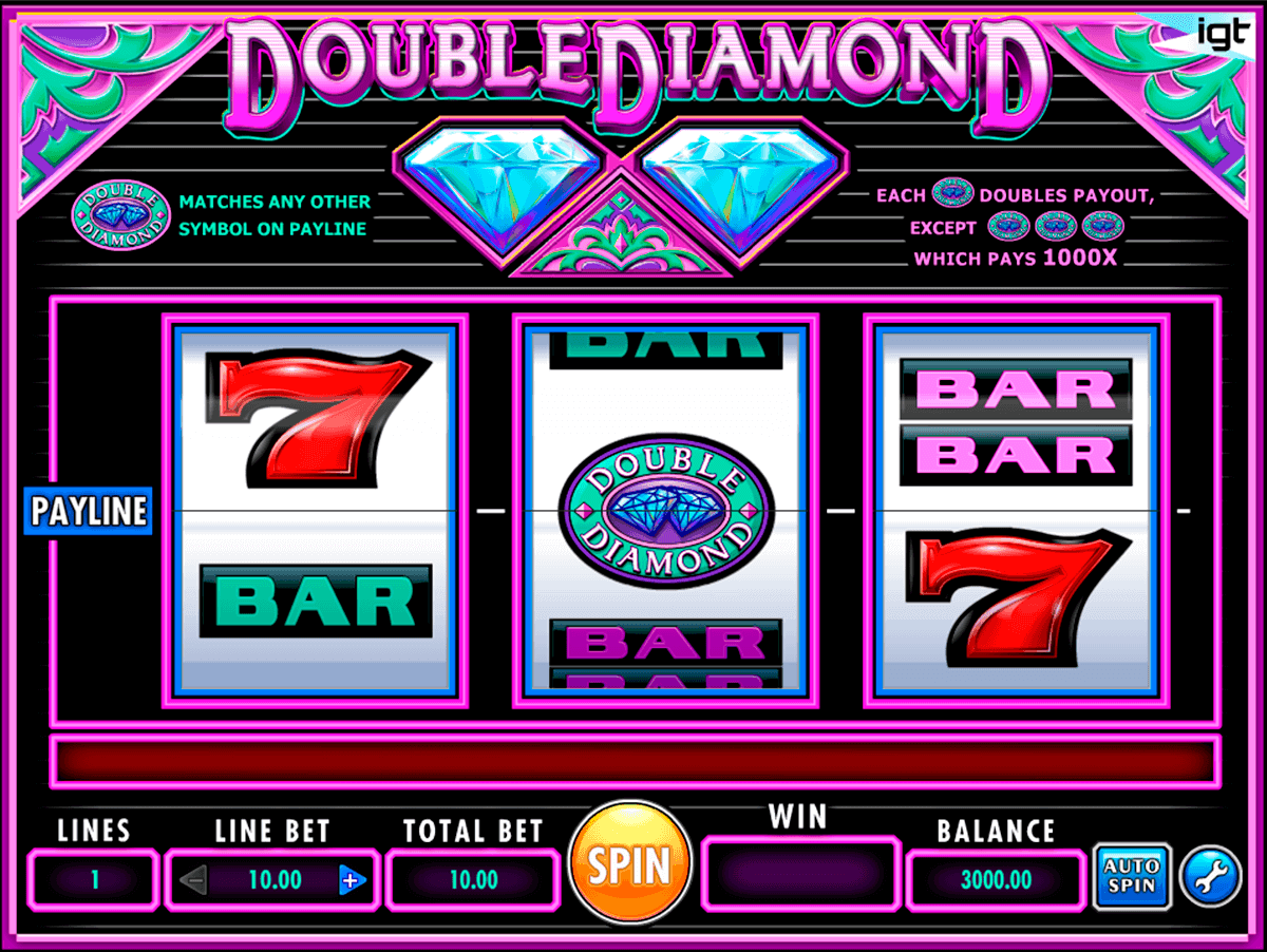 double diamond igt gokkast