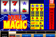 double magic microgaming gokkast
