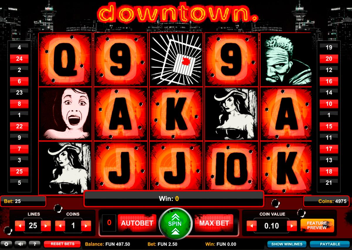 downtown 1x2gaming gokkast