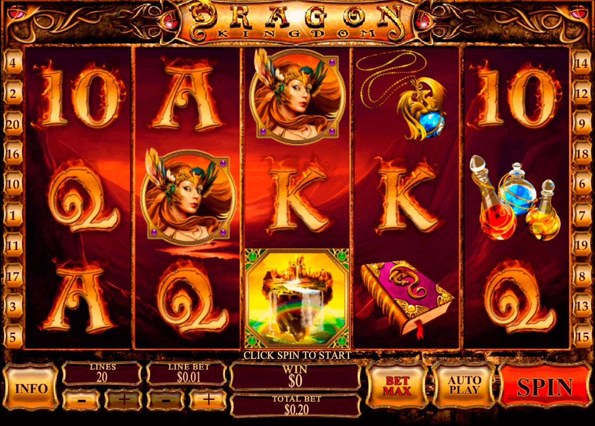 dragon kingdom playtech gokkast