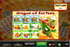 dragon of fortune world match krasloten