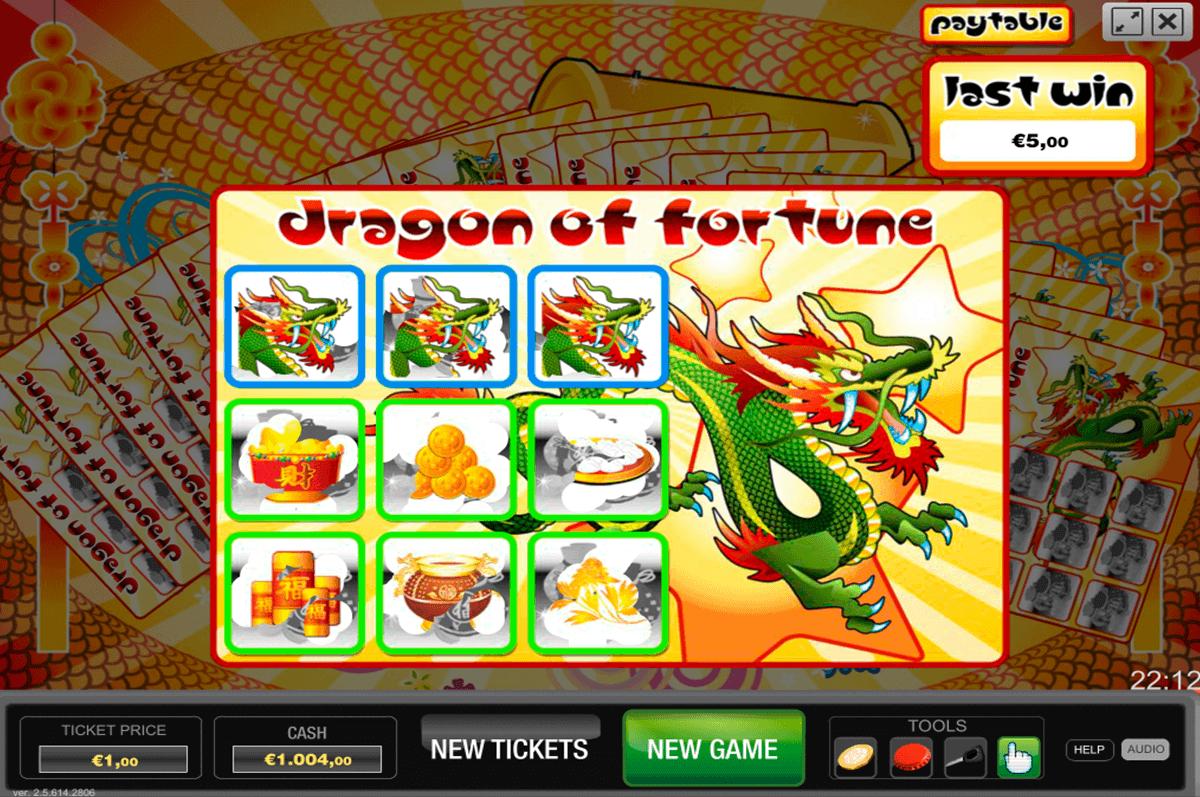 dragon of fortune world match krasloten