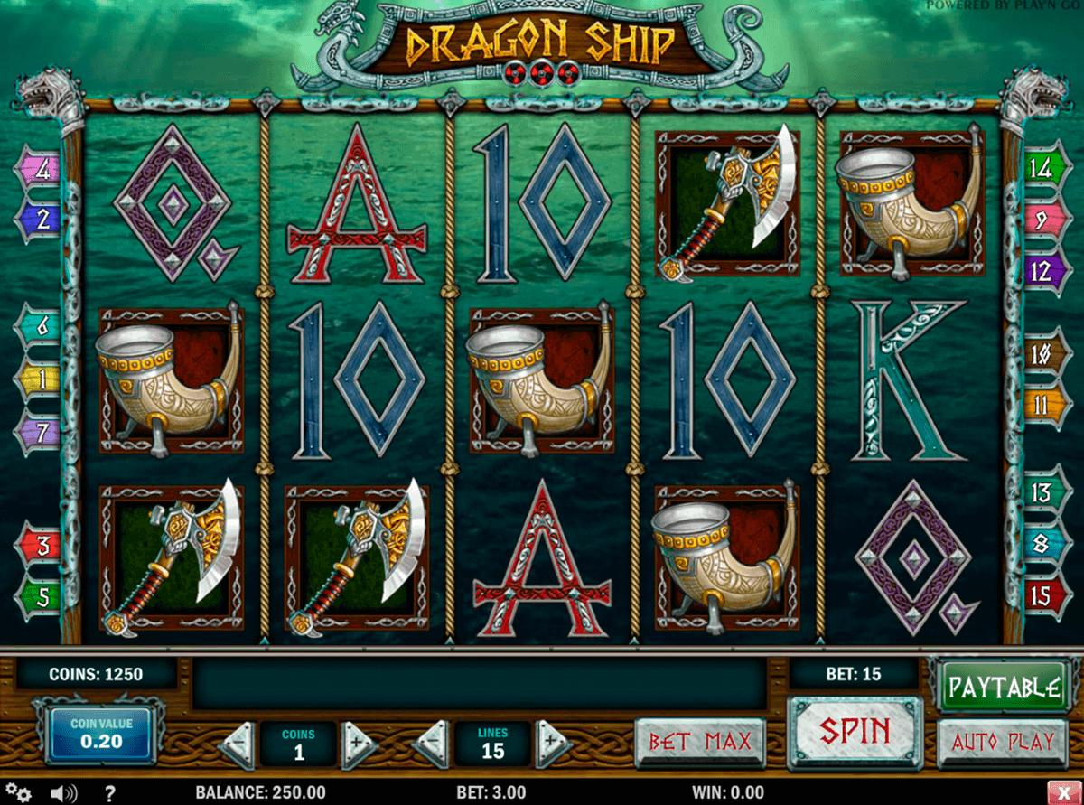 dragon ship playn go gokkast