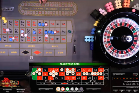dual play roulette evolution gaming
