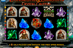 dungeons and dragons crystal caverns igt gokkast