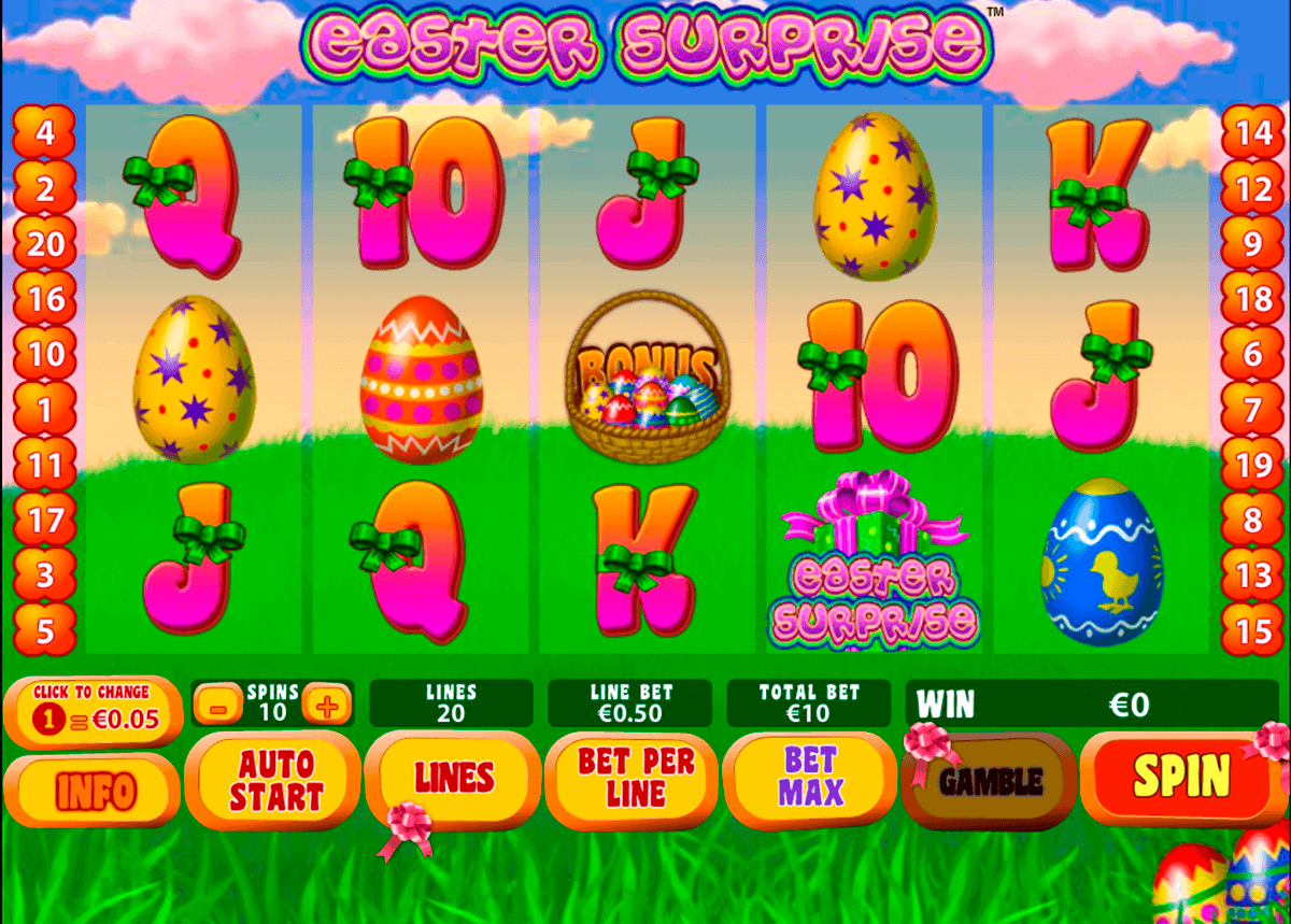 easter surprise playtech gokkast