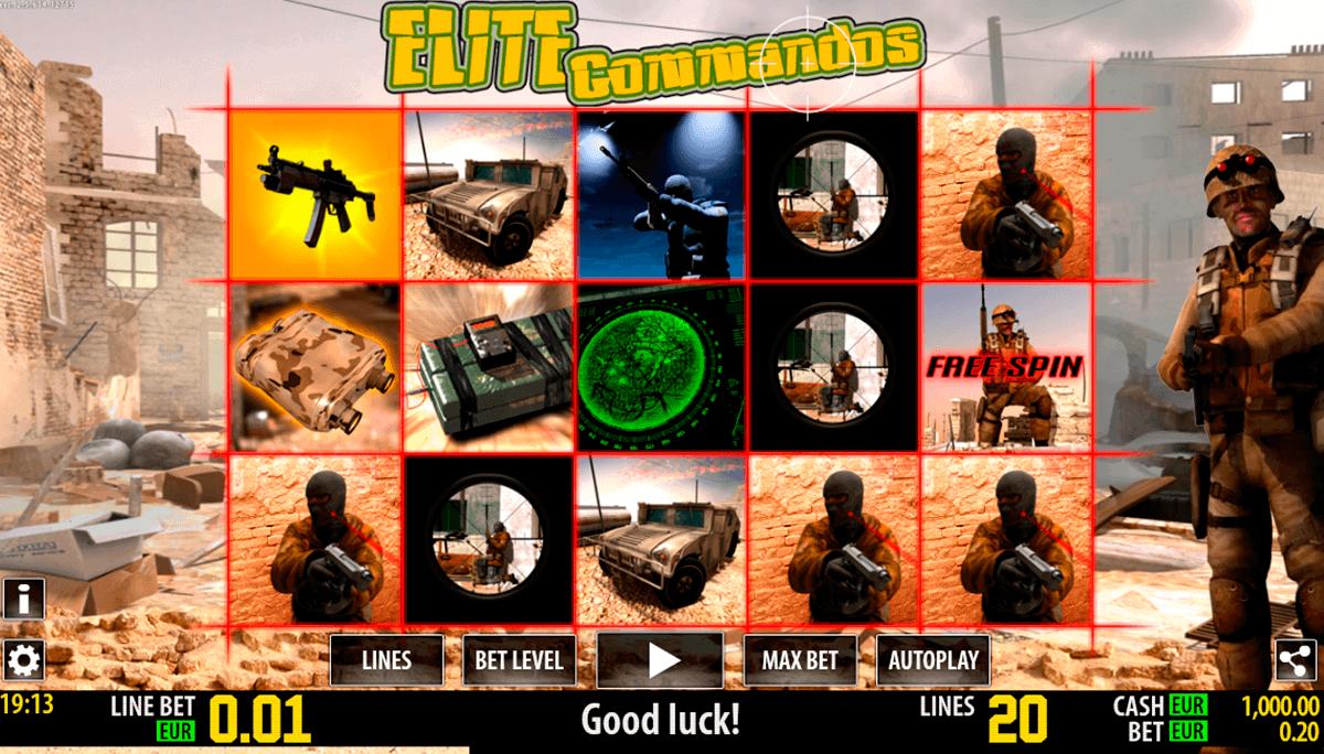 elite commandos hd world match gokkast