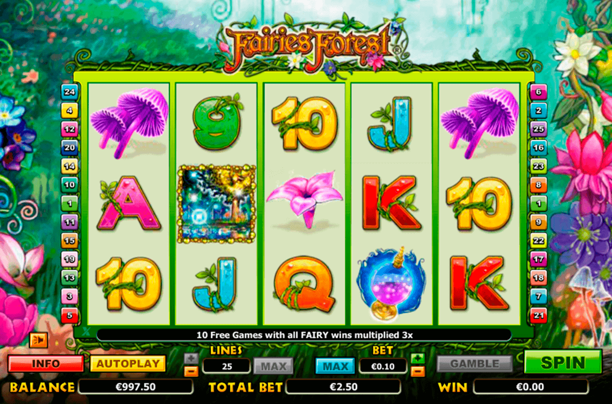 fairies forest netgen gaming gokkast