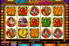 fat lady sings microgaming gokkast
