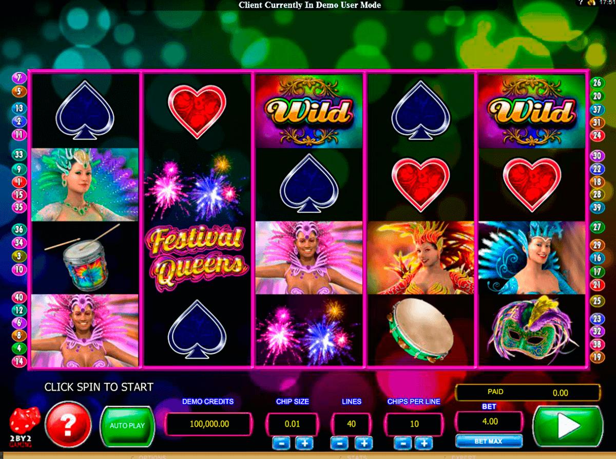 festival queens by gaming gokkast