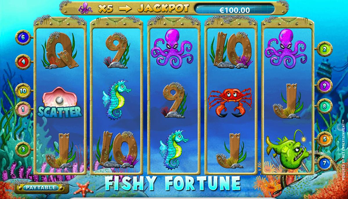 fishy fortune netent gokkast