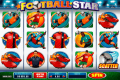 football star microgaming gokkast
