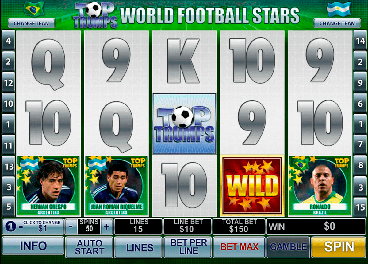football stars playtech gokkast