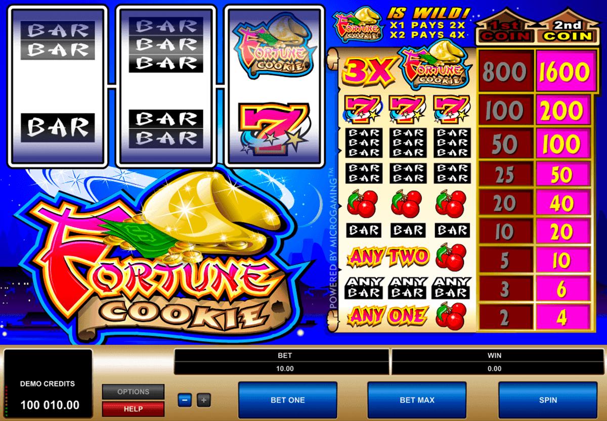 fortune cookie microgaming gokkast