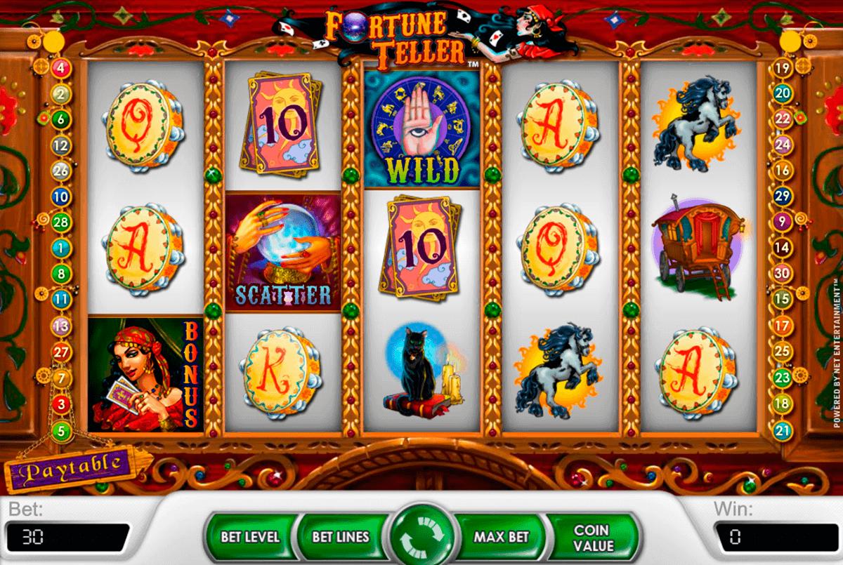 fortune teller netent gokkasten
