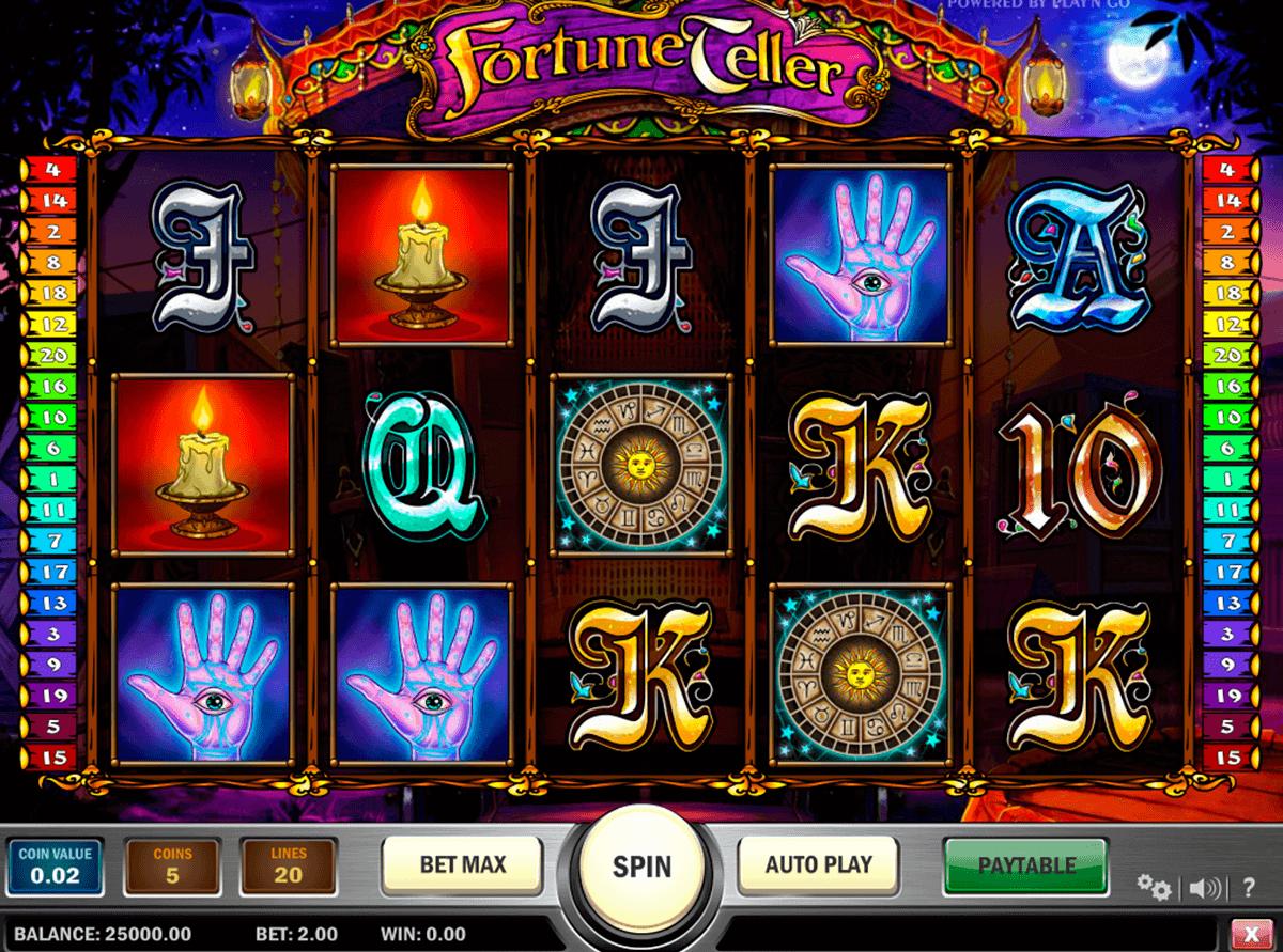 fortune teller playn go gokkast