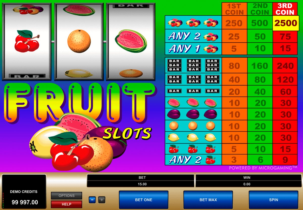 Spiele Back To The Fruits - Video Slots Online