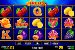 fruits evolution hd world match gokkast
