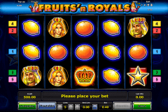 fruitsn royals novomatic gokkast