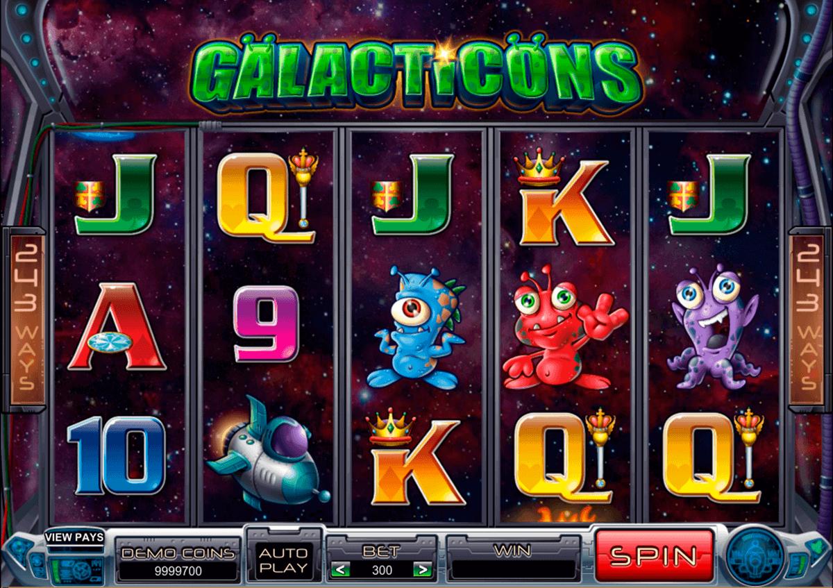 galacticons microgaming gokkast