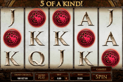 game of thrones  ways microgaming gokkast