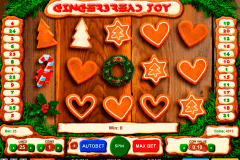 gingerbread joy gaming gokkast