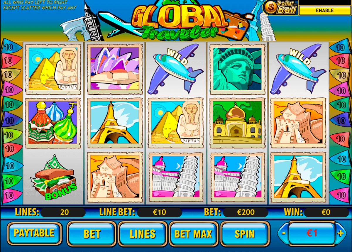 global traveler playtech gokkast