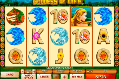 goddess of life playtech gokkast