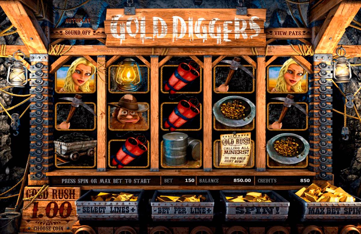 gold diggers betsoft gokkasten
