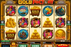 gold factory microgaming gokkast