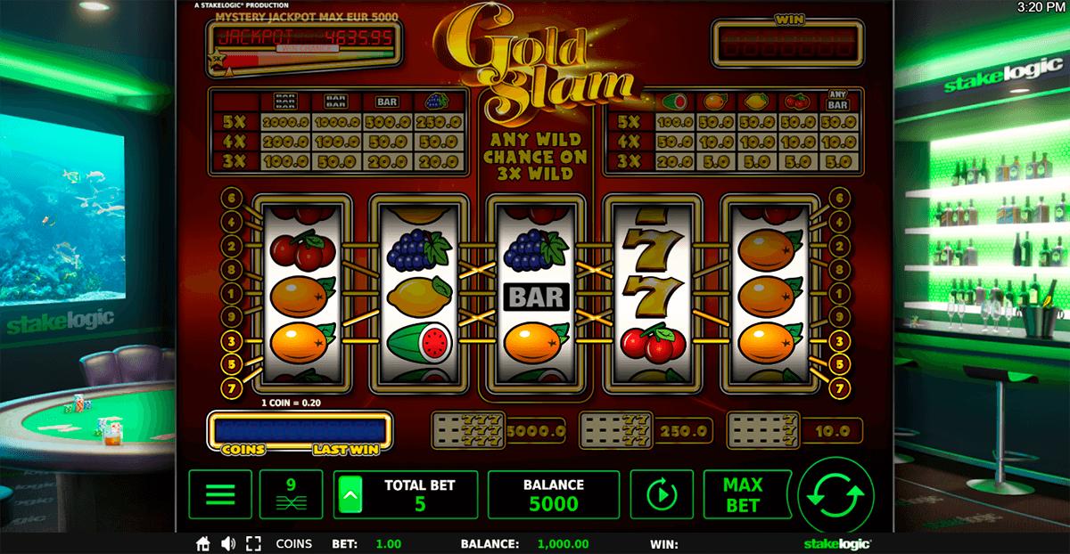 gold slam delux stake logic