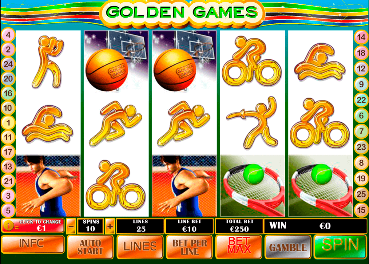 golden games playtech gokkast