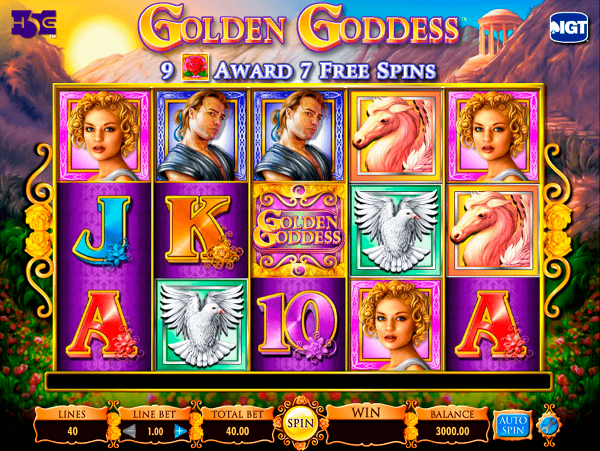 golden goddess igt gokkast