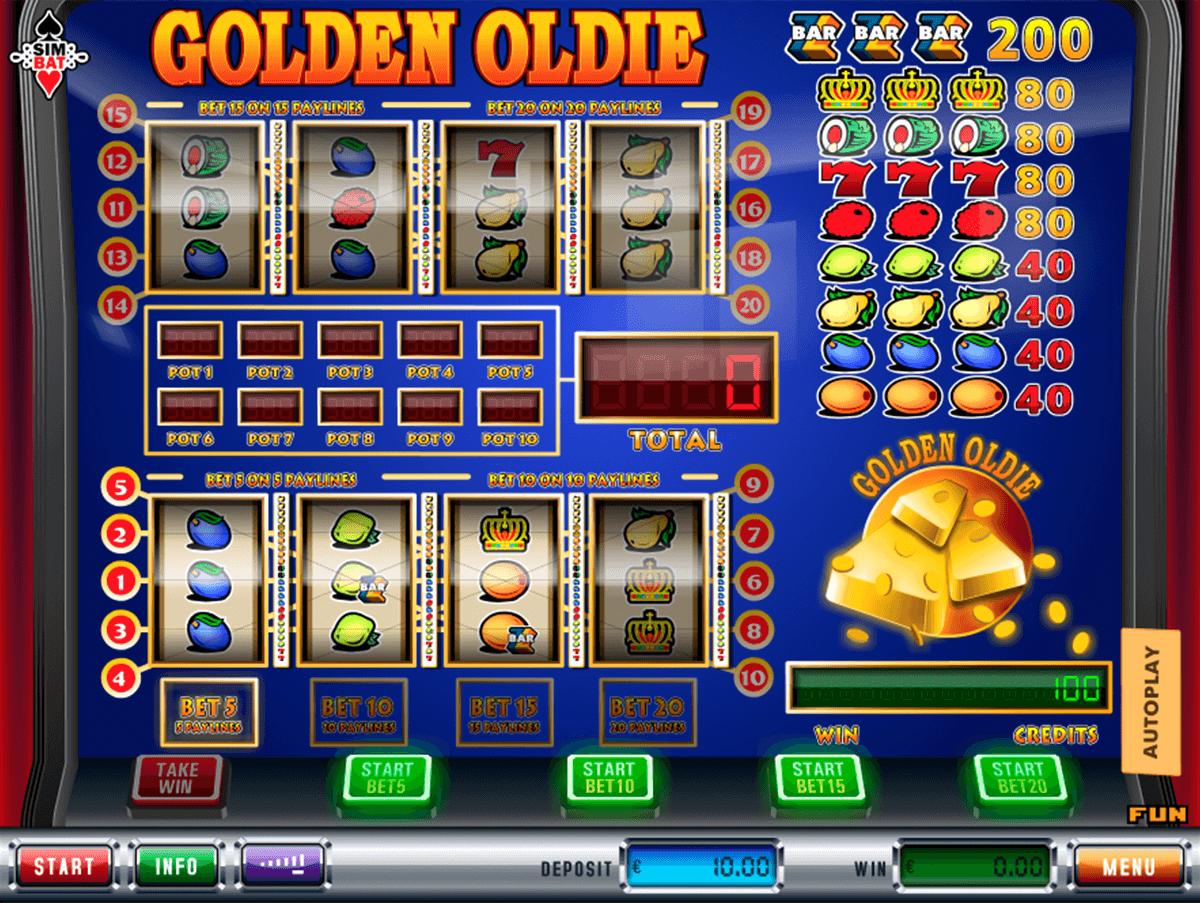golden oldie simbat gokkast