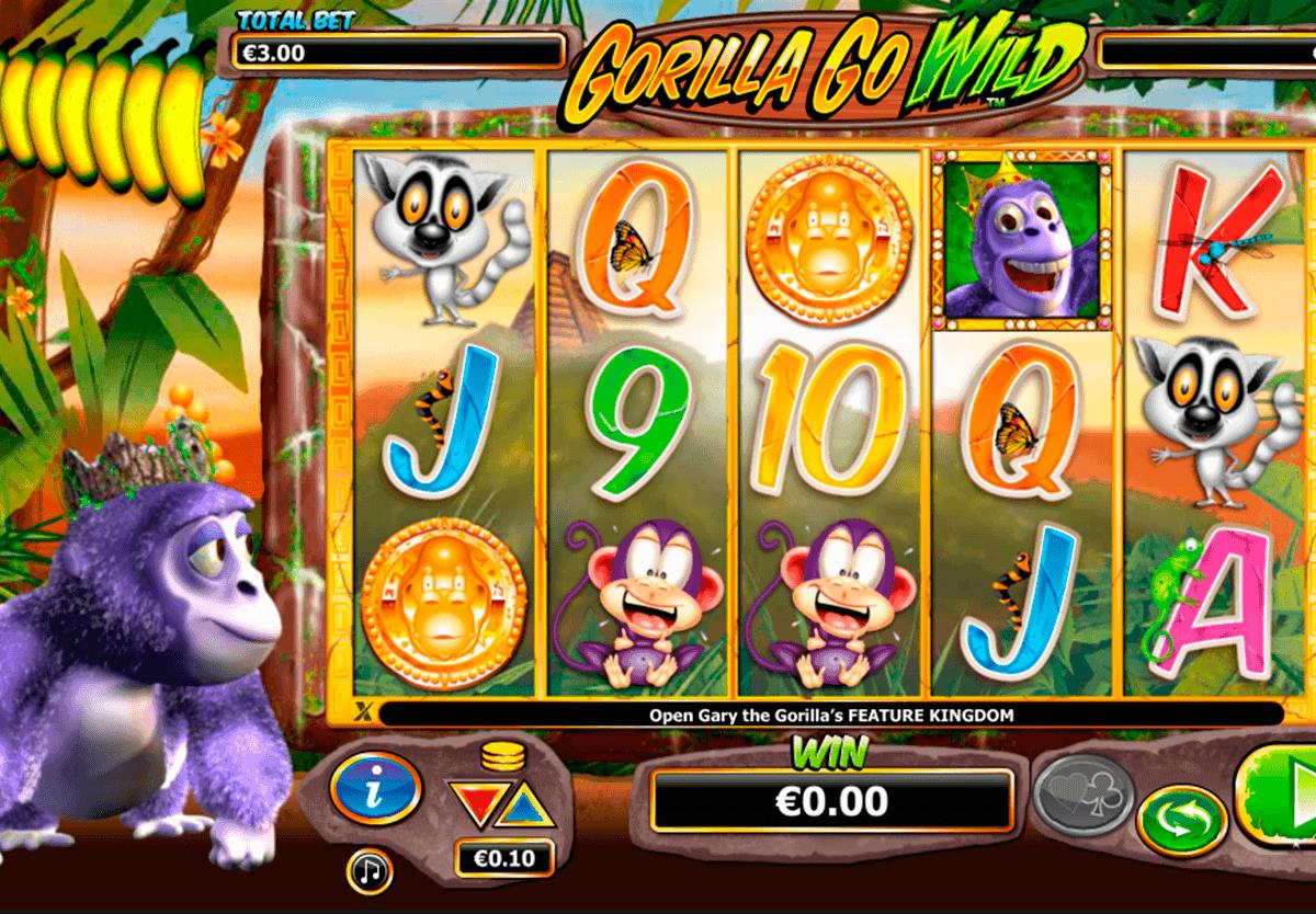 gorilla go wild netgen gaming gokkast