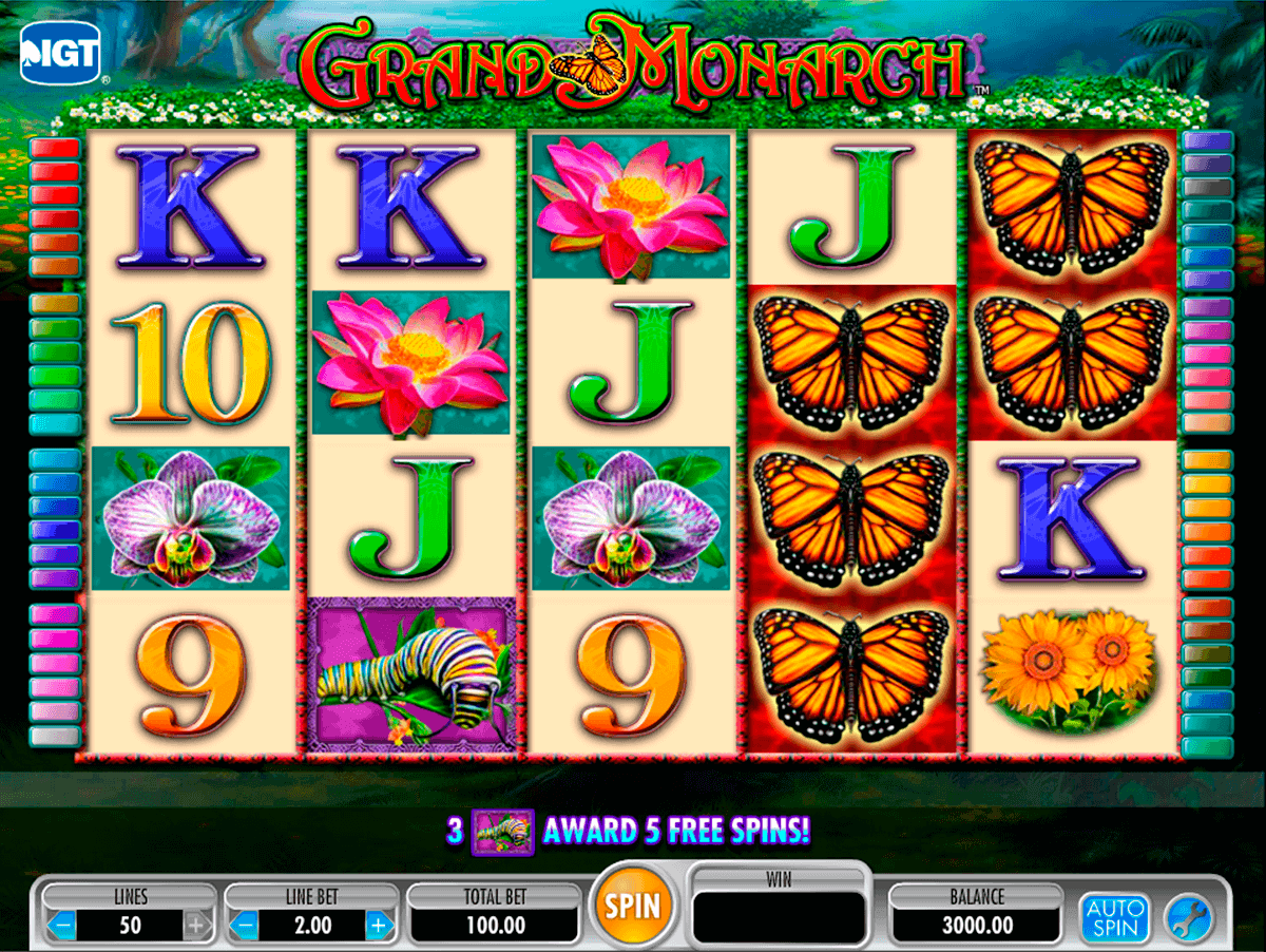 grand monarch igt gokkast