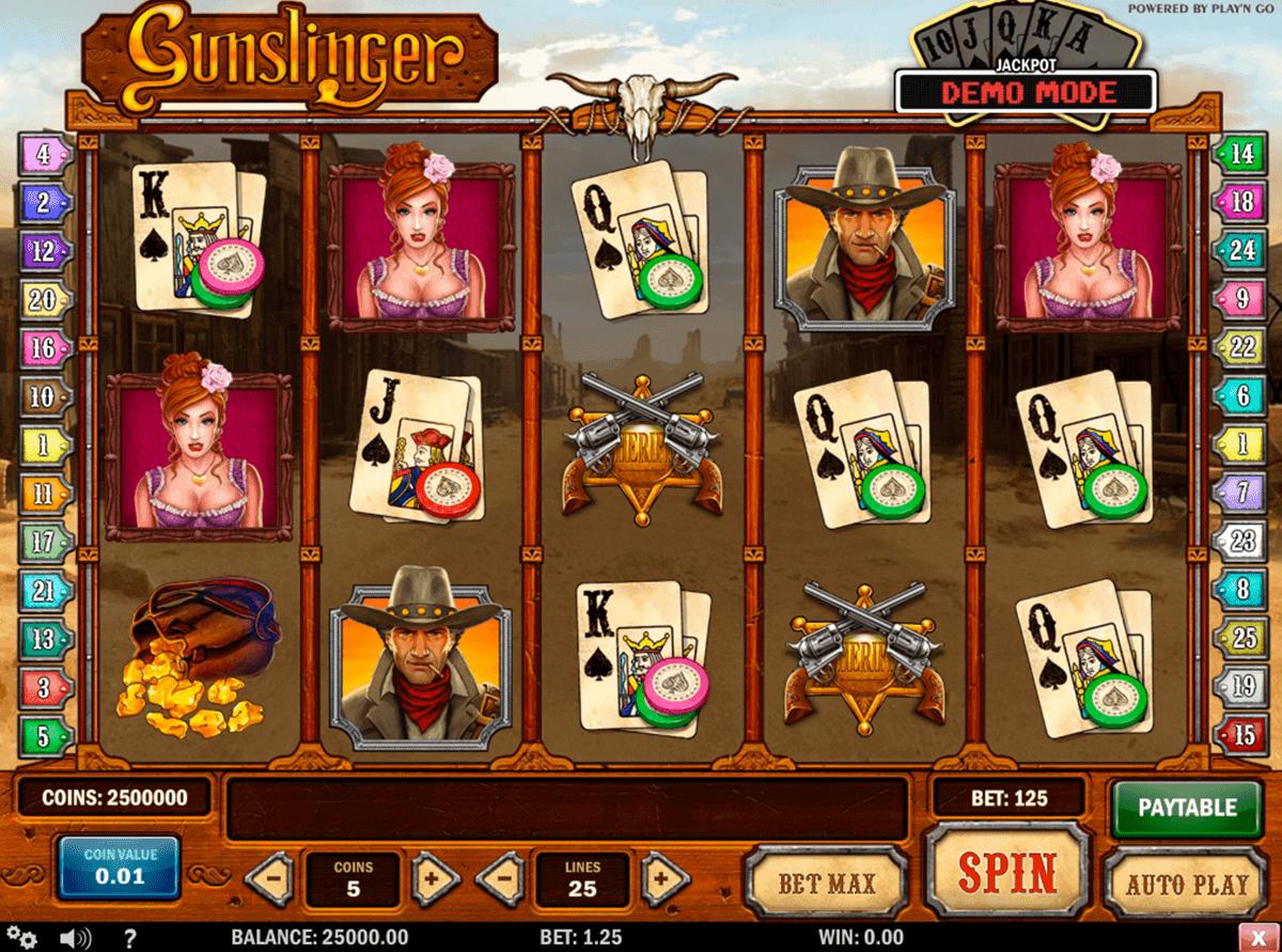 gunslinger playn go gokkast