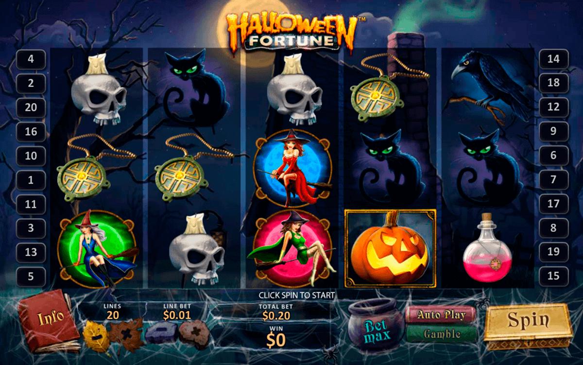 halloween fortune playtech gokkast