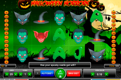 halloween horrors gaming gokkast