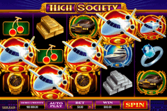 high society microgaming gokkast