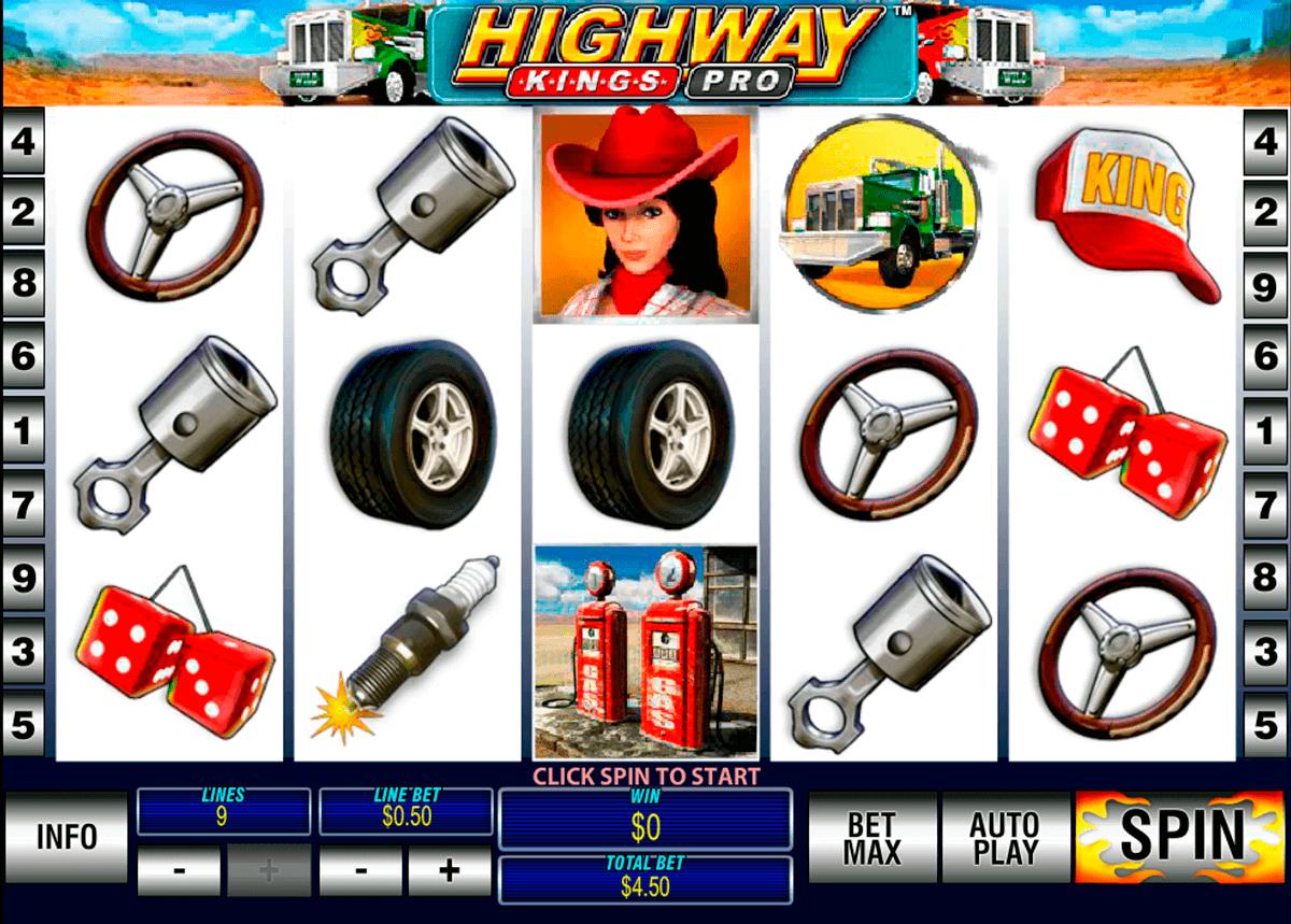 highway kings pro playtech gokkast