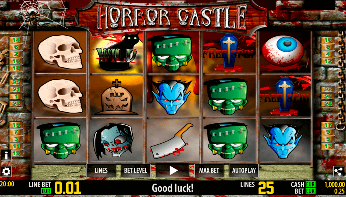 horror castle hd world match gokkast