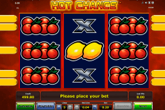 hot chance novomatic gokkast